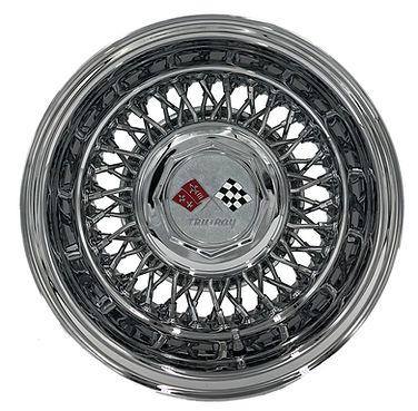 Trueray 60 Spoke Cross Lace Wire Wheel