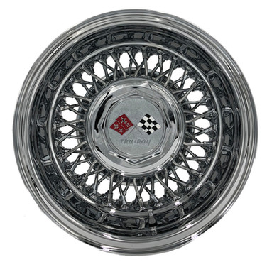 Trueray 60 Spoke Cross Lace Wire Wheel