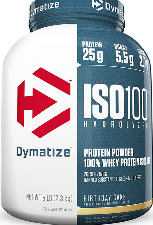 Dymatize Iso 100 Birthday Cake 5lb The Best Supplements The Best