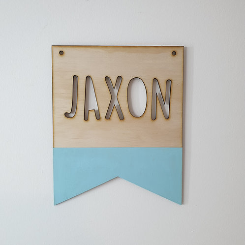 Banner/Pennant Plaque