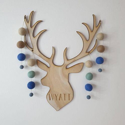 Bambi Wall Hanging