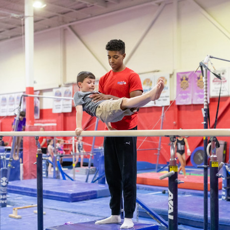 Parallel Bars with Coach Aldair