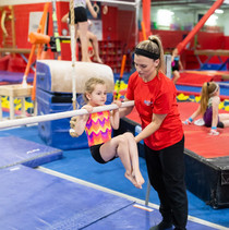 Tuck Hold on Bars with Coach Kaley