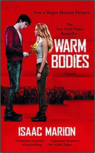 Warm Bodies Isaac Marion best Halloween books list