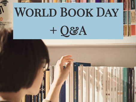 World Book Day + Q&A