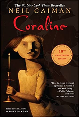 Coraline Neil Gaiman best Halloween books list