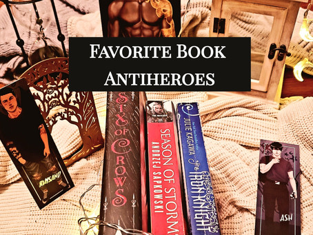 Favorite Book Antiheroes (Part 1)