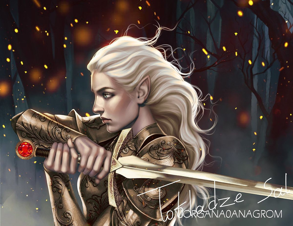 Aelin @morgana0anagrom Favorite Fictional Females Coffee, Book, and Candle