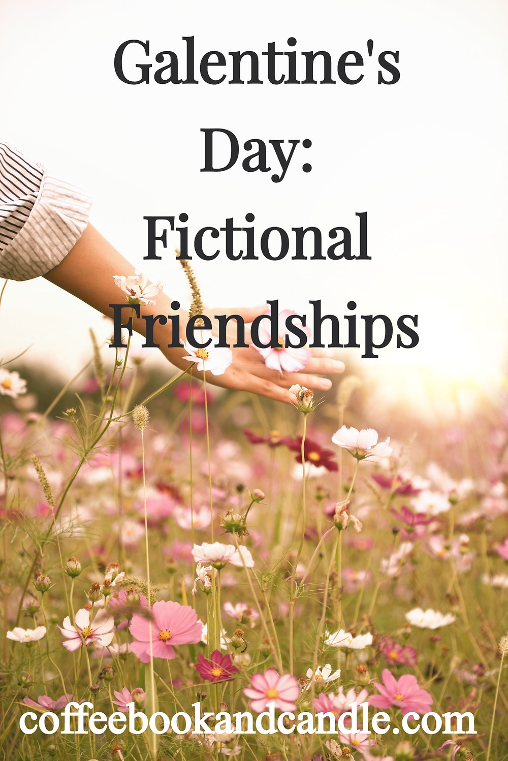 Galentine's Day: Fictional Friendships Coffee, Book, and Candle
