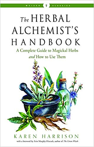 The Herbal Alchemist's Handbook Christmas book gift for witches