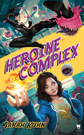 Superhero Trope Coffee, Book, and Candle Heroine Complex