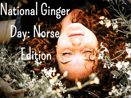 National Ginger Day: Norse Edition