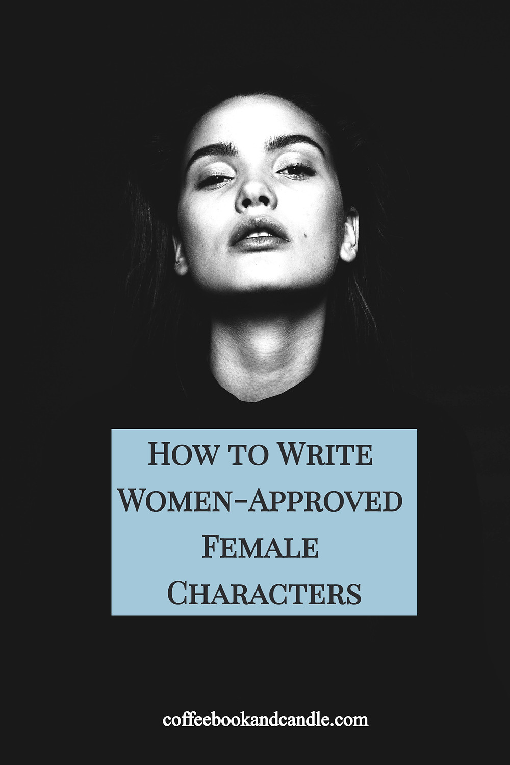 How to Write Women-Approved Female Characters Coffee, Book, and Candle