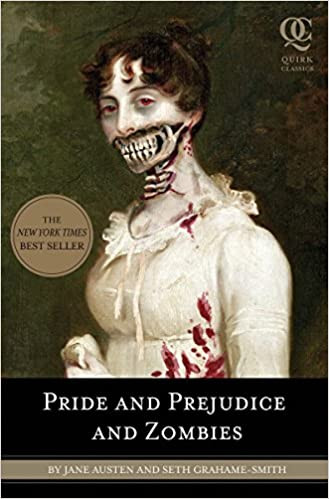 Pride and Prejudice and Zombies best Halloween books list