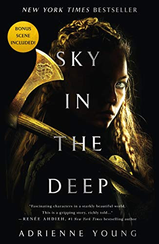Sky in the Deep by Adrienne Young book review by book blog Coffee, Book, & Candle in honor of the Norsevember reading challenge.