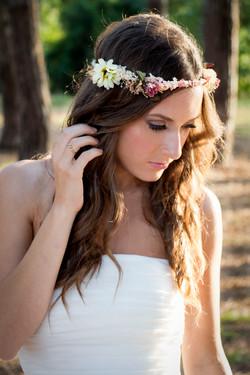 coronas de flores Casilda