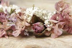 Corona de flores Lola