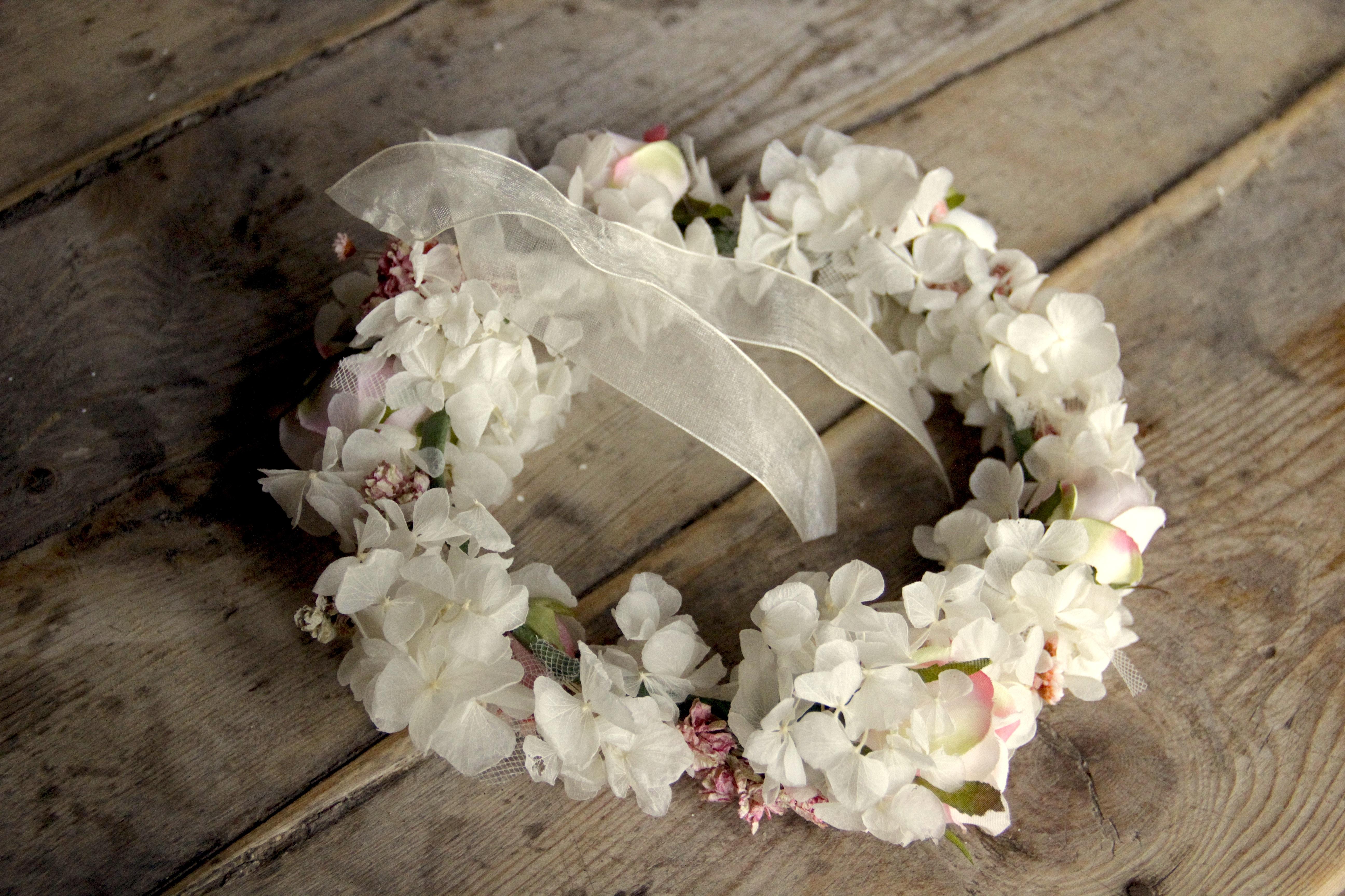 Corona de flores Paula