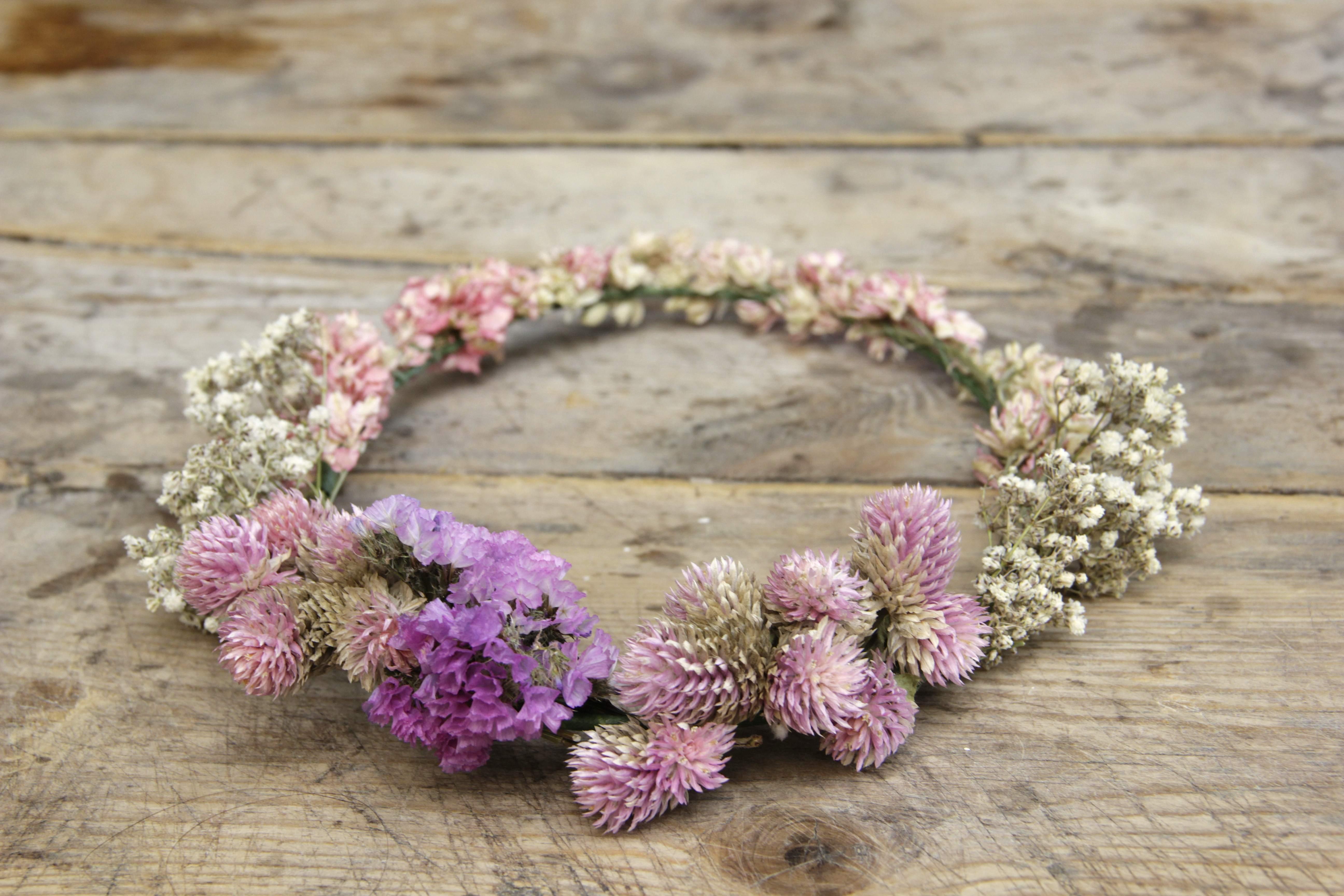 Corona de flores Paola