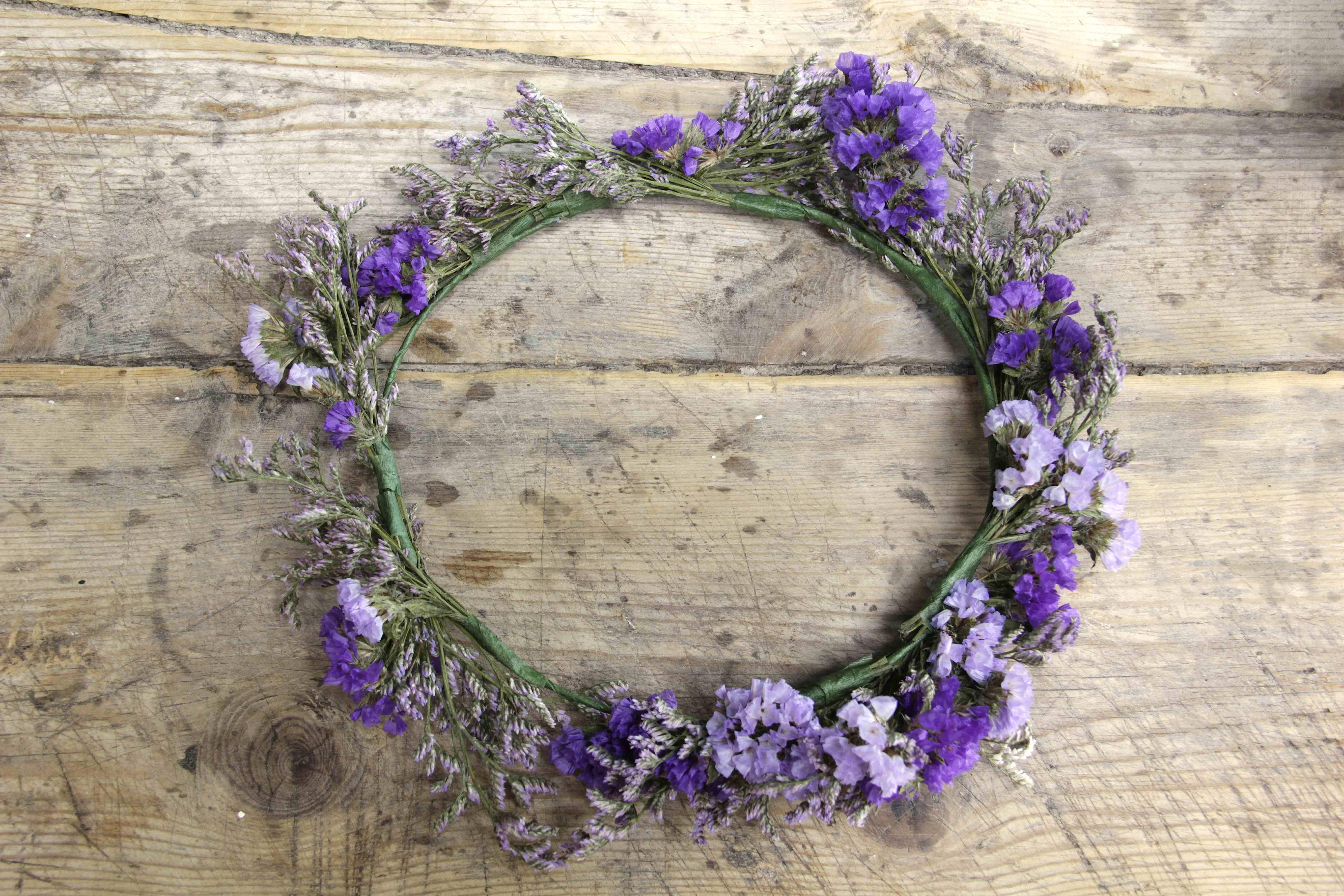 Corona de flores Cayetana