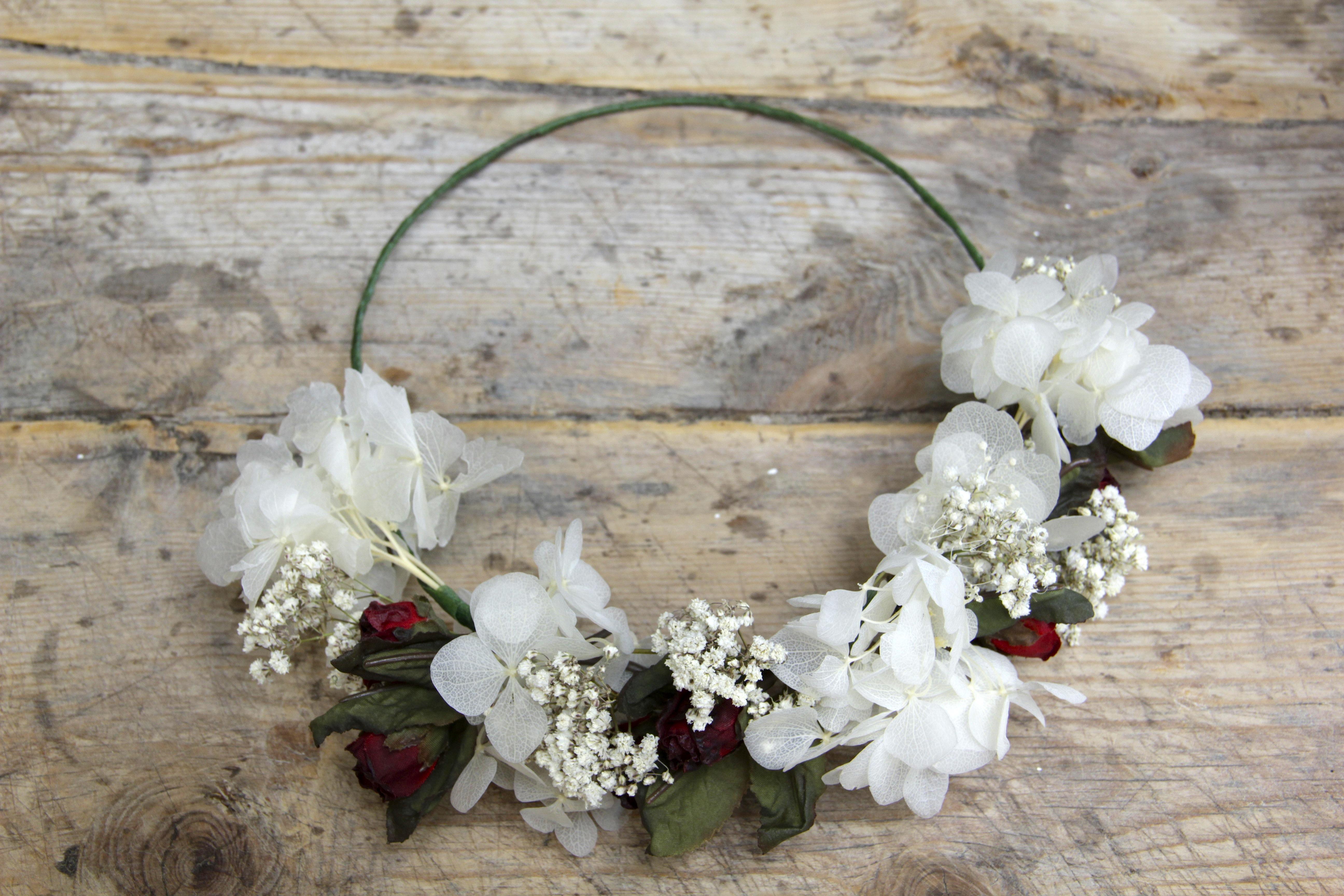 Corona de flores Beatriz