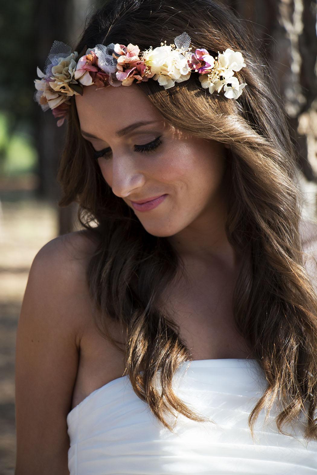 coronas de flores Lola