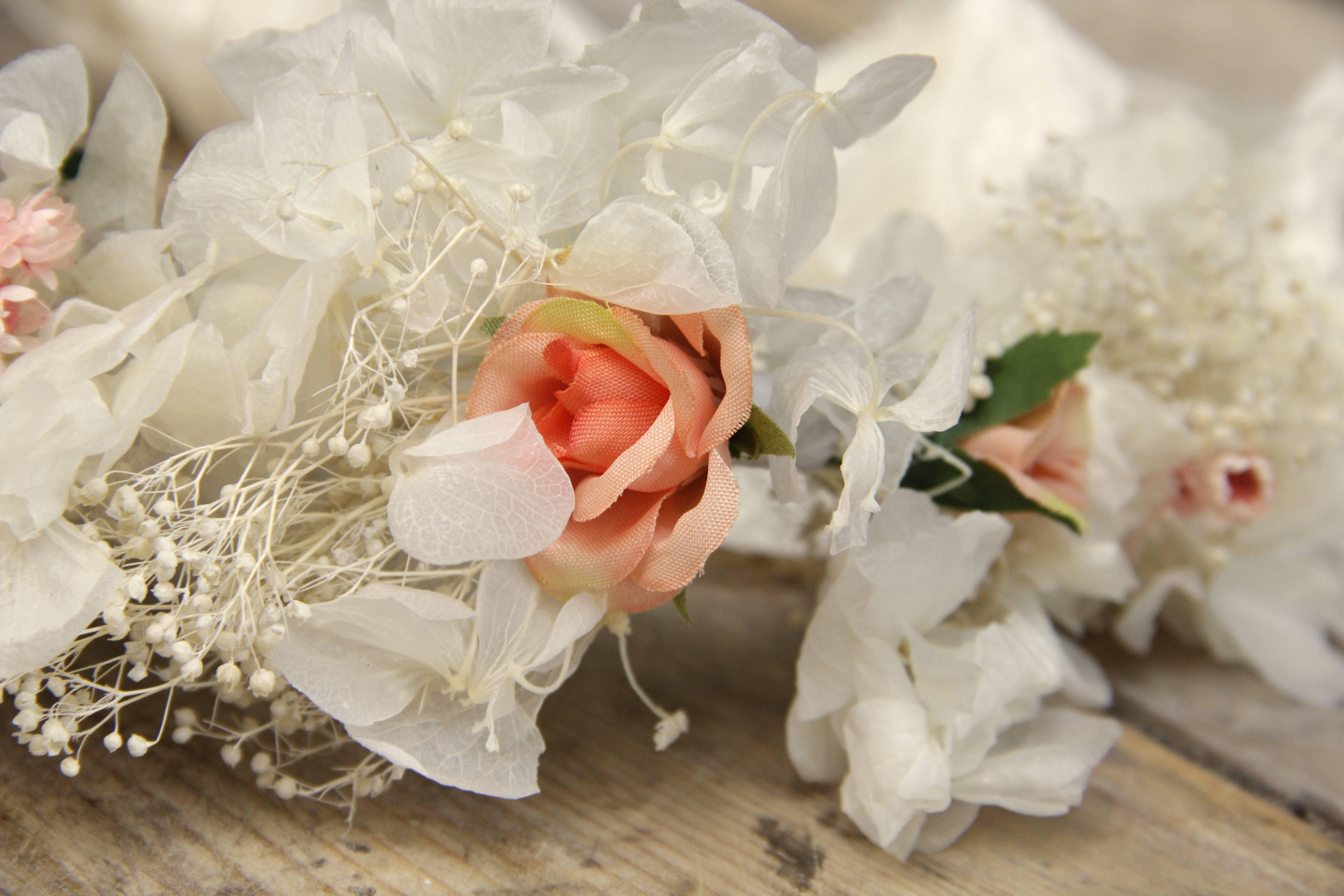 Corona de flores Carolina