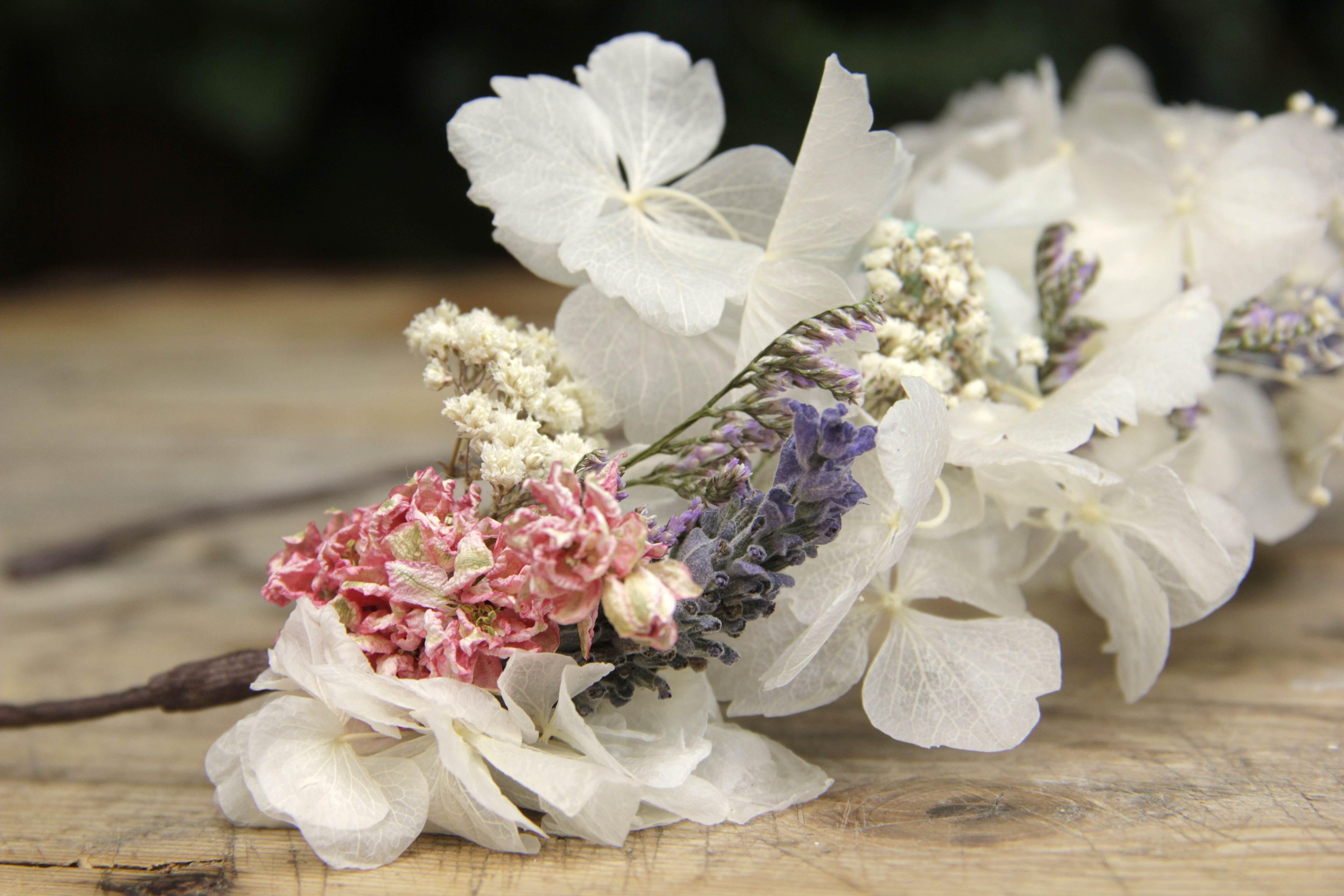 Corona de flores Olivia
