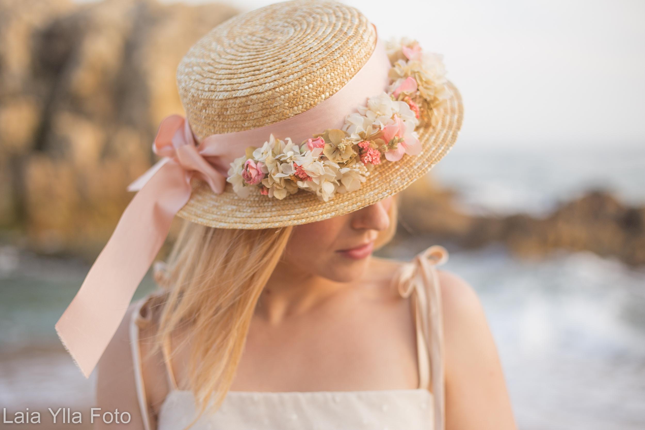 Canotier flores Sweetbohème