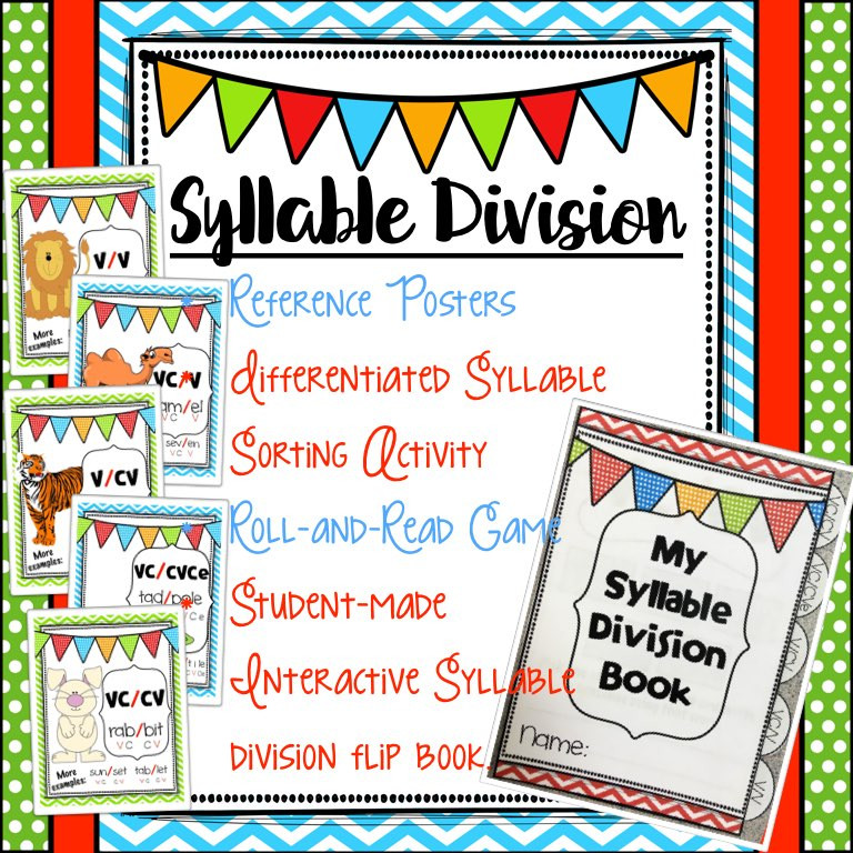 Syllable Division Patterns