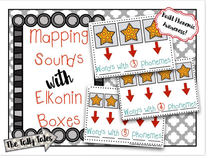 Mapping Sounds with Elkonin Boxes