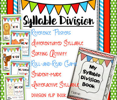Teach Syllable Division Without Feeling Overwhelmed!