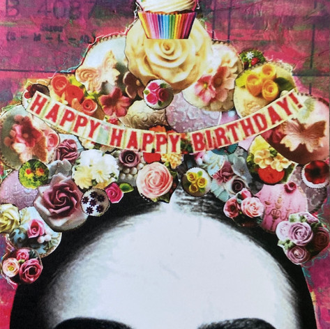 Cupcake Crown Card
