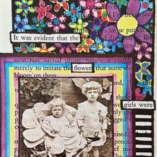 Flower Girls Card