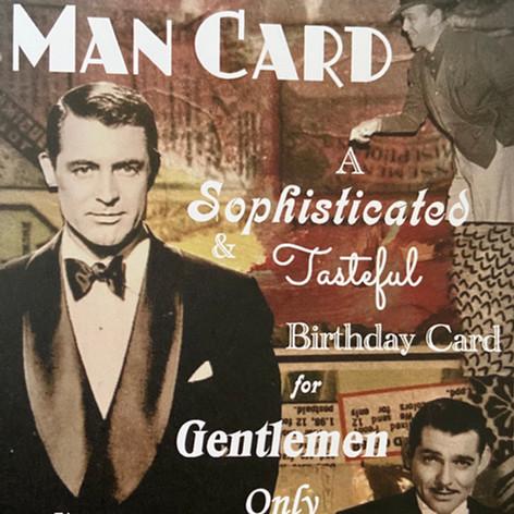 Man Card Card