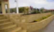Link Block Retaining Wall Timber Paving Turf Garden Paramount Landscapes Gold Coast