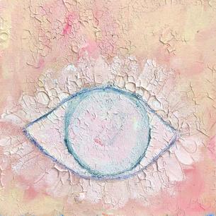 Eye (pink- Gallery Outside)