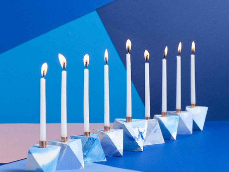 Simple Hanukkah Decorating Ideas