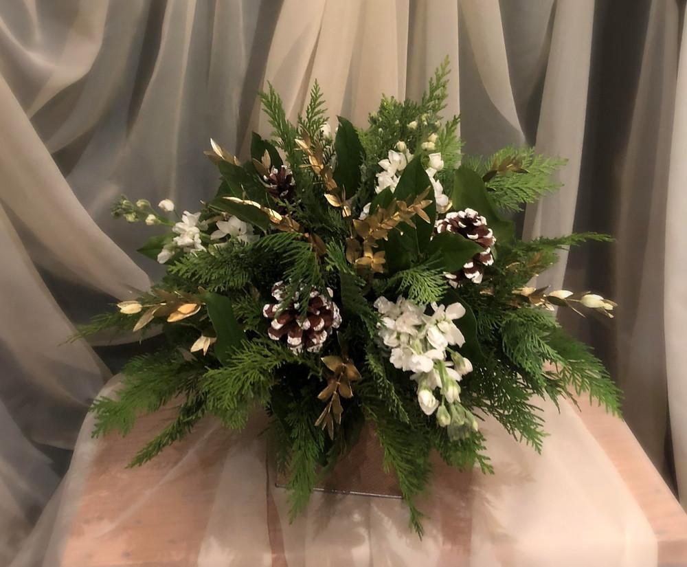 Holiday centerpiece Love U Flowers