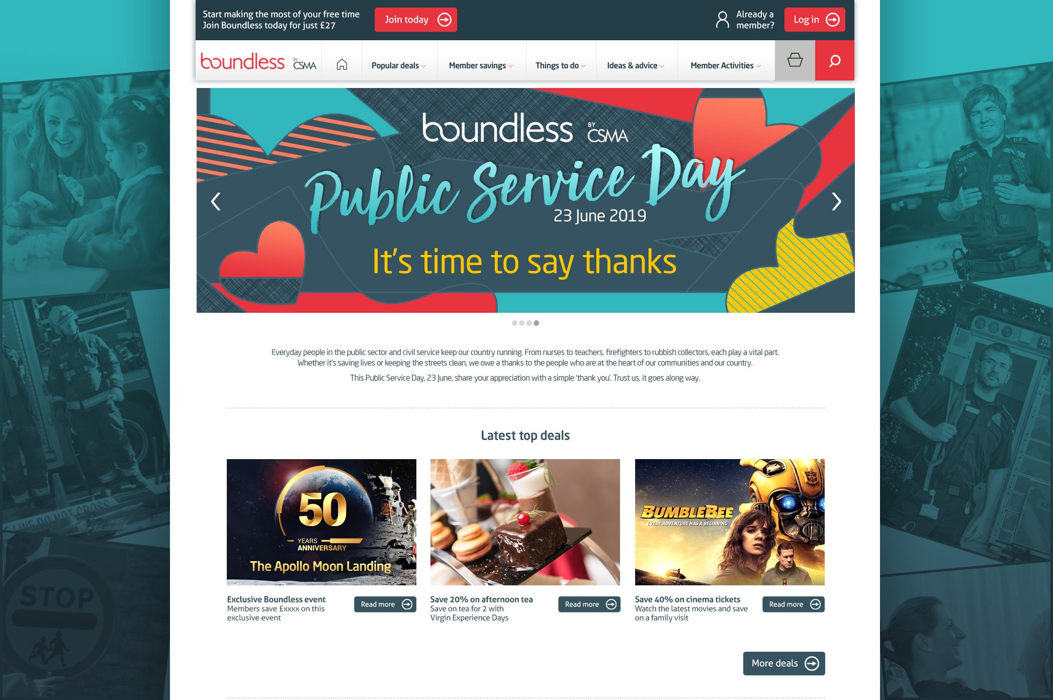 Boundless Public Service Day hubpage 2