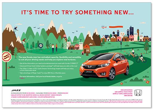 Print Ad Landscape