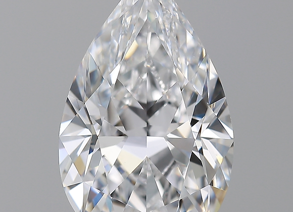 The Majestic Diamond Ring Pear Shaped 3.35 ct D color  IF clarity GIA 5182904378