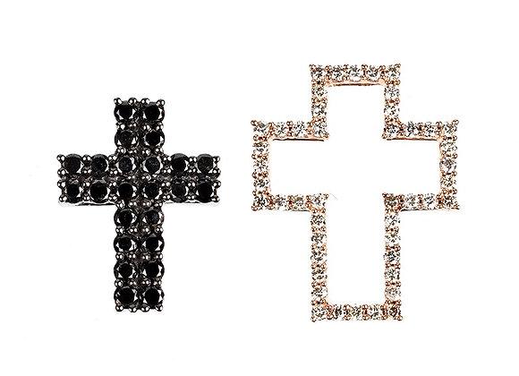 Graciously Give The Cross Pendant Set 18 Karat