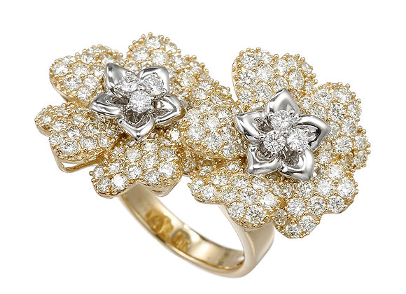 Sincerity Diamond Flora Ring