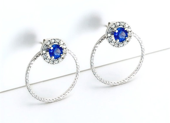Voyage Modern Diamond Earring