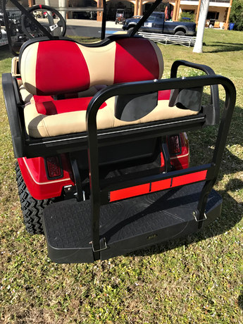 Max 5 composite rear seat, with cooler. Rust proof!