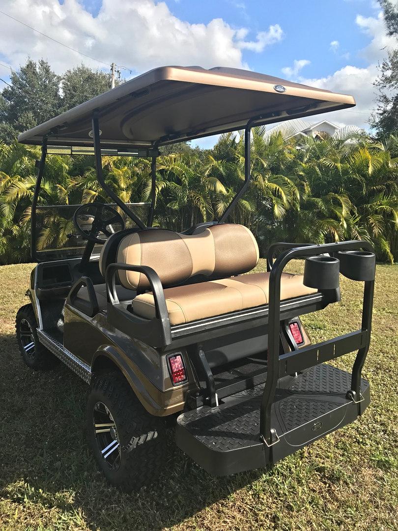 Composite rear seat, rust proof!