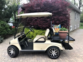 Do you have an older Club Car in good working order?  We can update it anyway you would like!