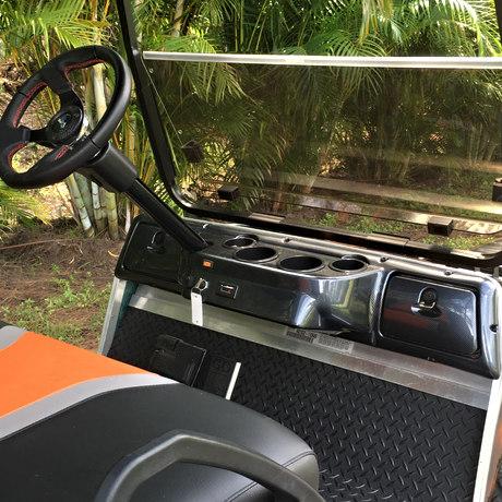 New locking carbon fiber dash
