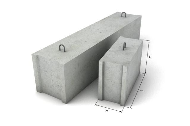 Блоки ФБС размеры